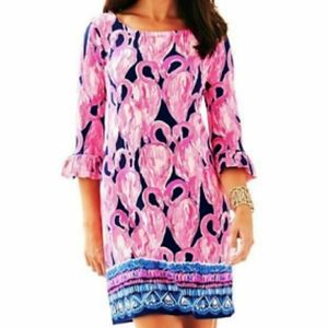 Lilly Pulitzer UPF 50+ Sophie Ruffle Flami…